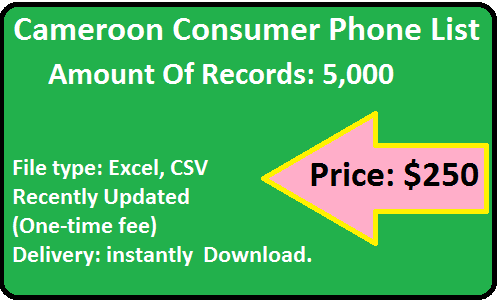 Cameroon ConsumerPhone List