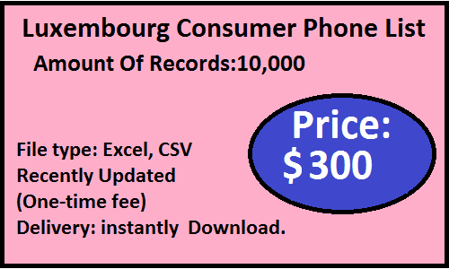 Luxembourg consumer list